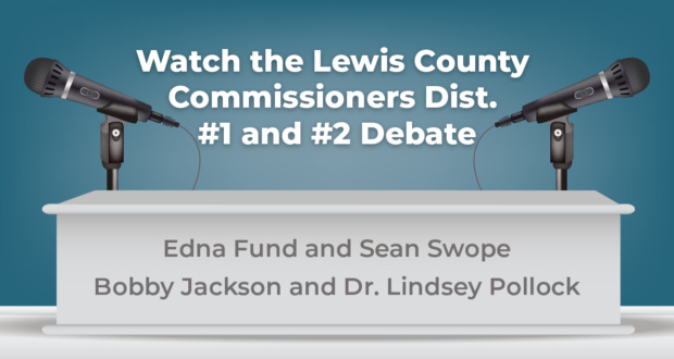 2020 Debate For Commissioner Dist. #1 and #2
